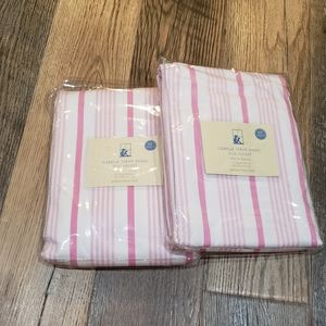NEW Pottery Barn kids striped curtains [ q…
